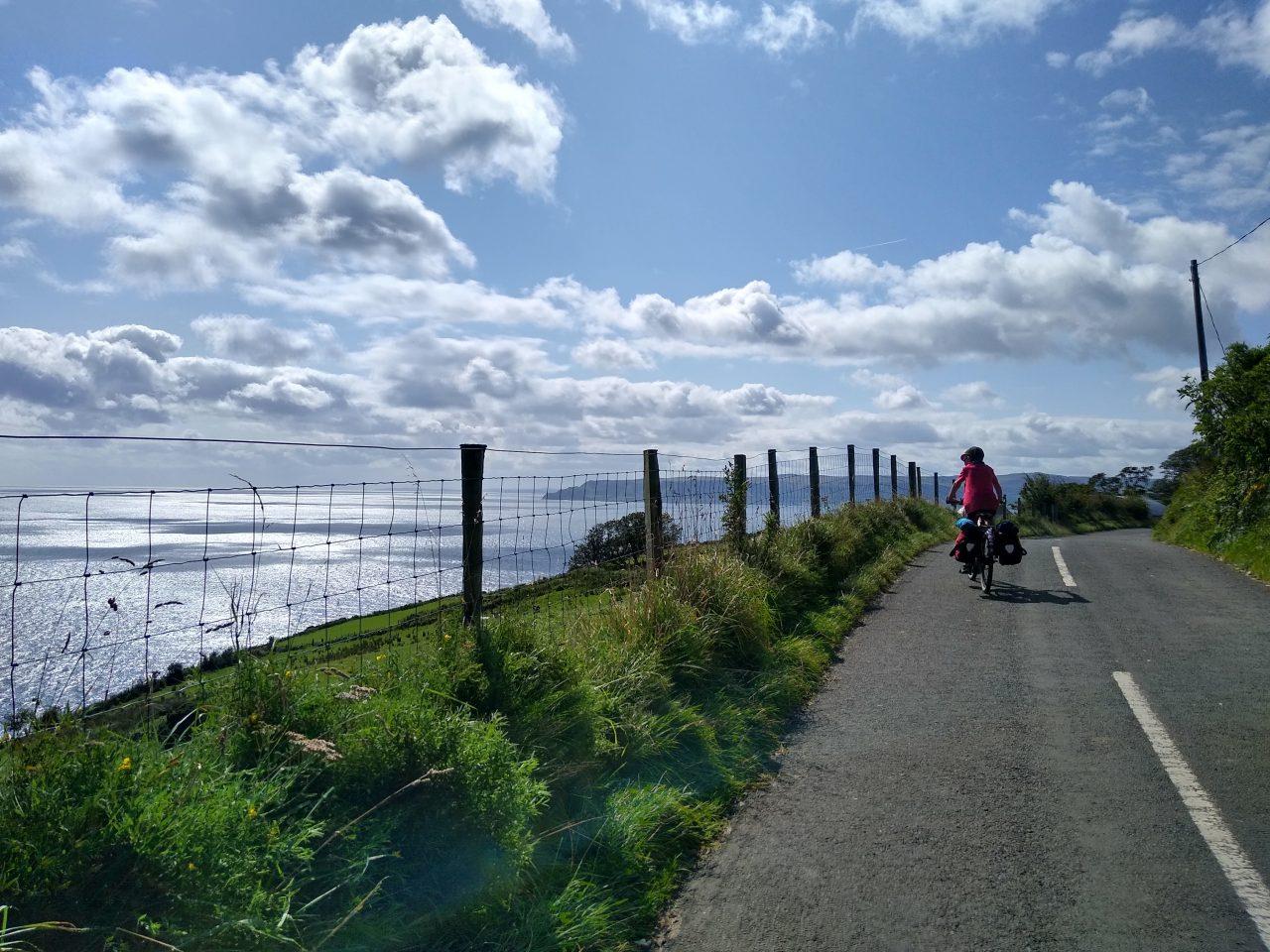 Rugged coastal road