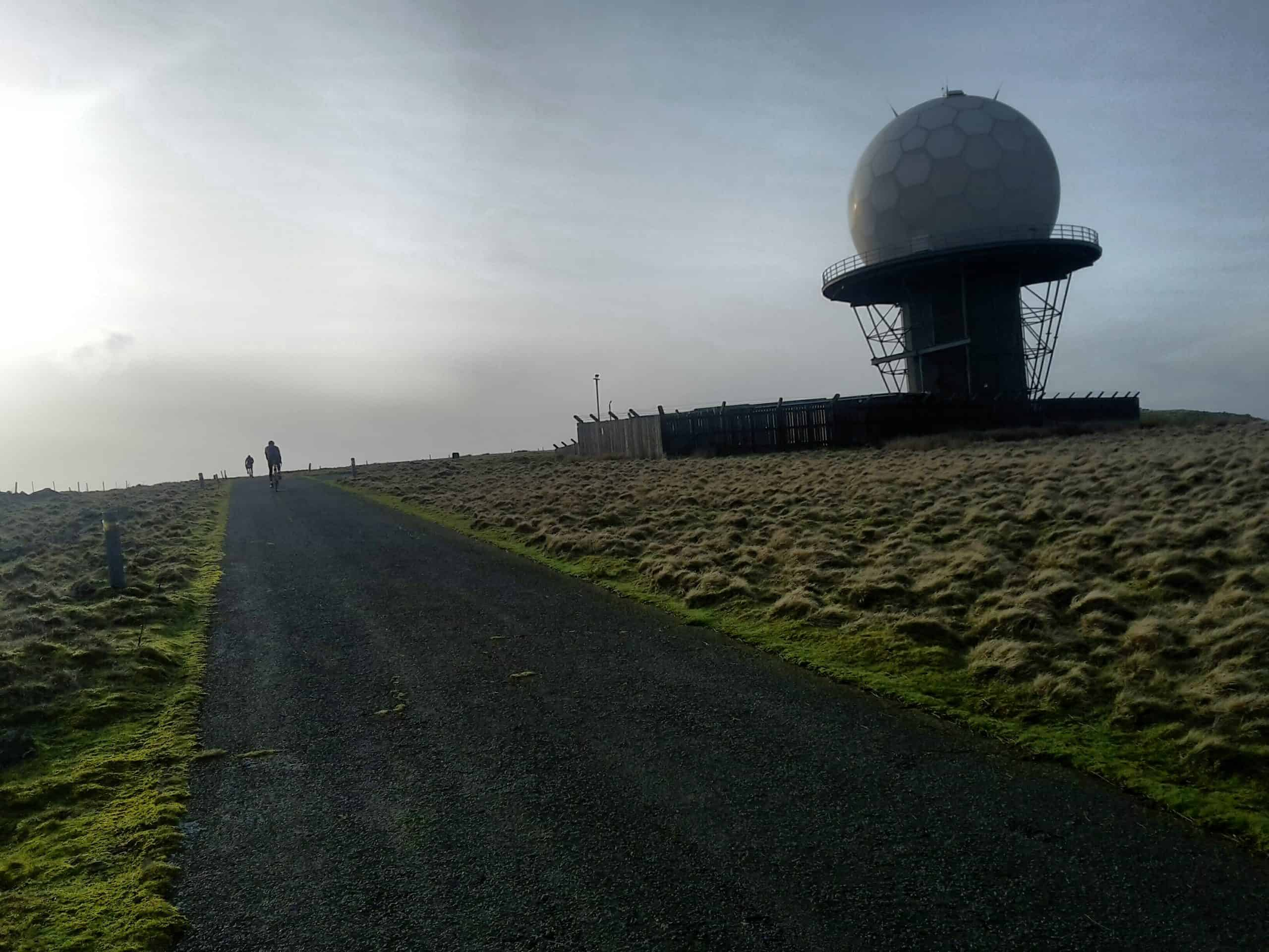 Summit 'bout Titterstone Clee 300