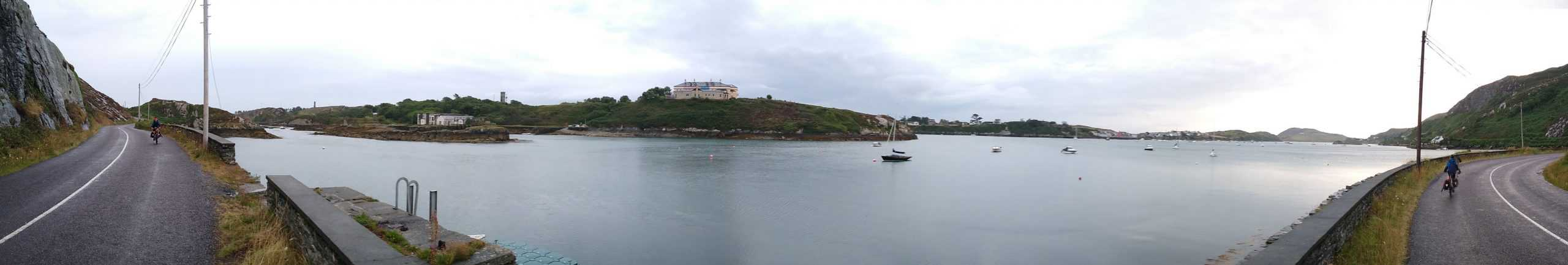 Panorama of sheltered inlet
